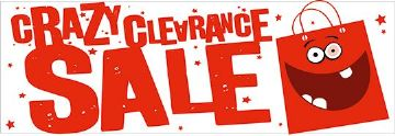 Crazy Clearance Sale banner